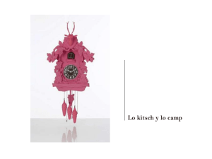 Lo kitsch y lo camp