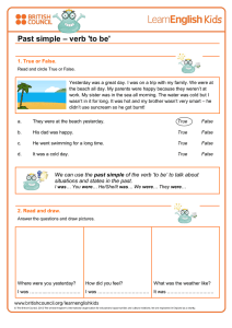 Print an activity for the game.
