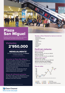 Plaza San Miguel - Clear Channel Perú