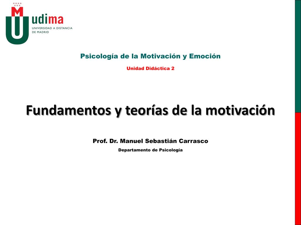 Qué Es La Motivación