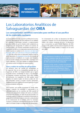 IAEA Safeguards Analytical Laboratories