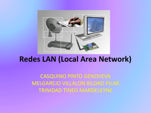 Redes LAN (Local Area Network)