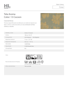 Tela Aroma Color: 13 Cocoon