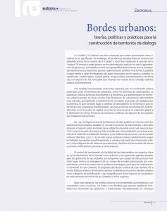 Bordes urbanos: - Universidad Nacional de Colombia