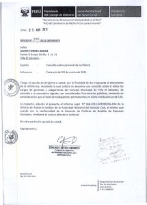 Informe Legal 368-2011-SERVIR-GG-OAJ