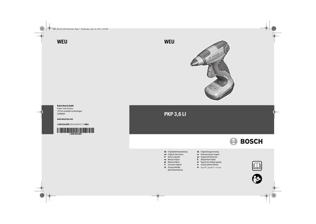 Power Adesives B-TEC-MAK Pistolet /à Colle sans Fil