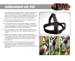ARRANQUE DE PIE