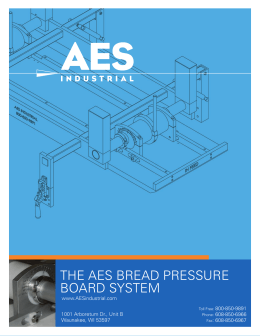 THE AES BREAD PRESSURE BOARD SYSTEM