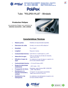 "Tubo ""POLIPEX-PLUS"" - Blindado"