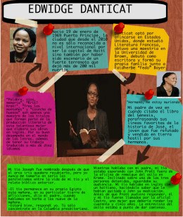 case study research example Edwidge Danticat: Biography