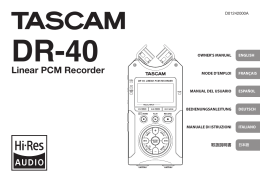Linear PCM Recorder