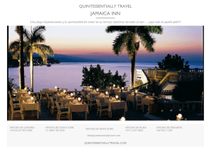 JAMAICA INN - Quintessentially Travel