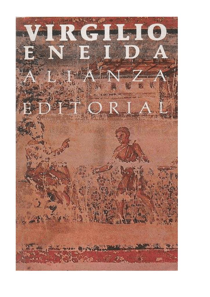 Virgilio Marón, Publio - La Eneida