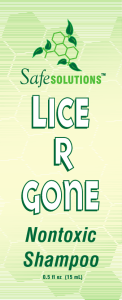 Lice R Gone Nontoxic Shampoo (0.5 oz Packet)