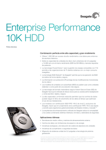 Enterprise Performance 10K HDD