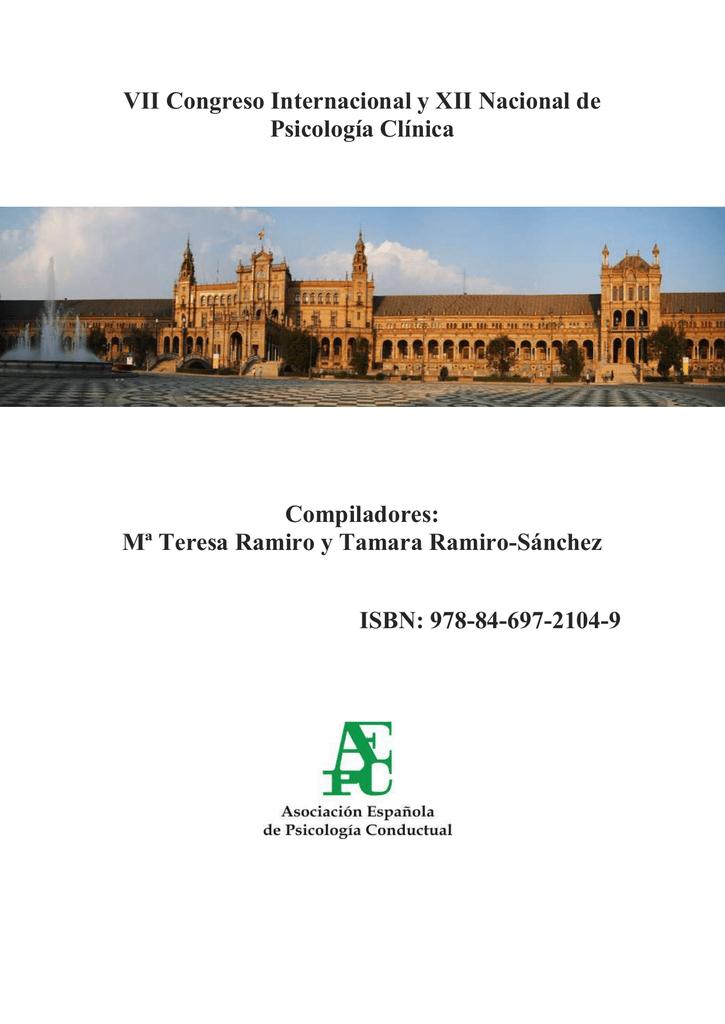 VII Congreso Internacional y XII Nacional de Psicología Clínica