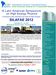 IX Latin American Symposium on High Energy Physics
