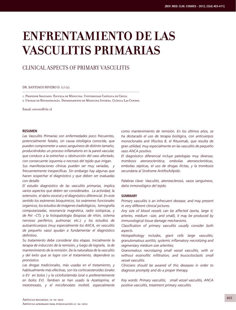 De vasculitis livedoide signos