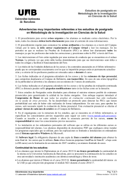 Descargar documento Advertencias importantes.