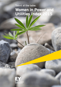 Talent at the table: Women in Power and Utilities Index 2015