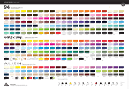 CARTA DE COLORES COLOR RANGE