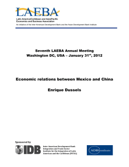 Economic relations between Mexico and China - Inter
