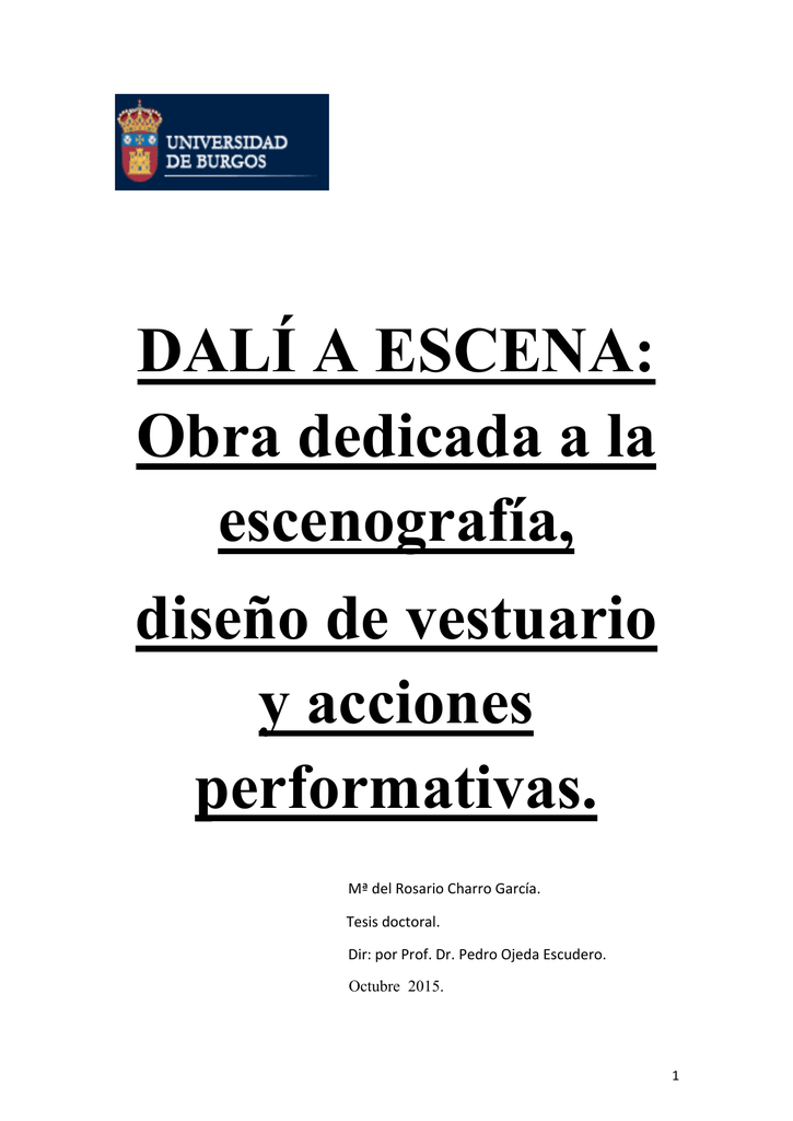 DALÍ A ESCENA  Obra dedicada a la escenografía 4559abdaf427