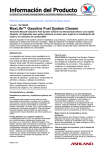 MaxLife™ Gasoline Fuel System Cleaner