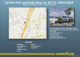 Car One Parts and Body Shop SA de CV, Universidad