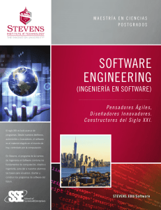 software engineering - Stevens Institute of Technology