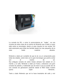 manual de operaciones de la consola wii mini rh studylib es Operaciones Legos Investigacion De Operaciones