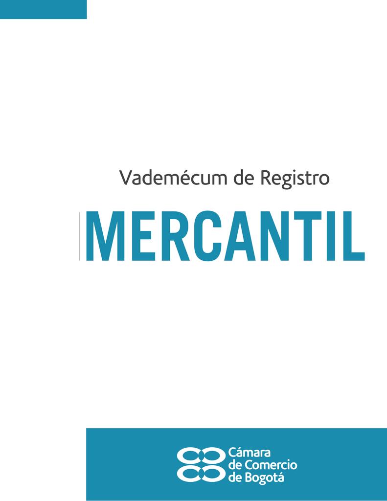 Vademécum de Registro Mercantil
