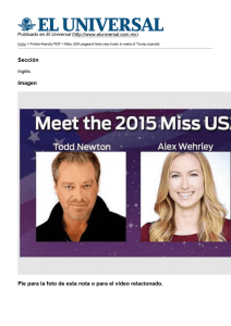 Miss USA pageant hires new hosts in wake of Trump