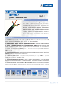 Cables XTREM H07RN-F