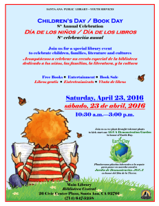 Children`s Day / Book Day