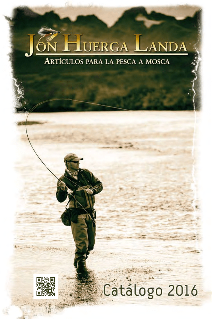 Jon Tienda Pescamosca Landa Huerga de pesca CsdxtQrBh