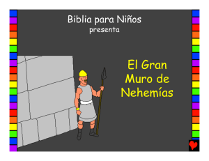 The Great Wall of Nehemiah Spanish