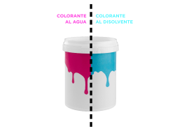 COLORANTE AL DISOLVENTE COLORANTE AL AGUA