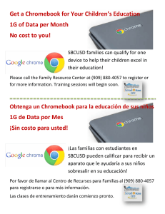 Get a Chromebook for Your Children`s Education 1G of Data per