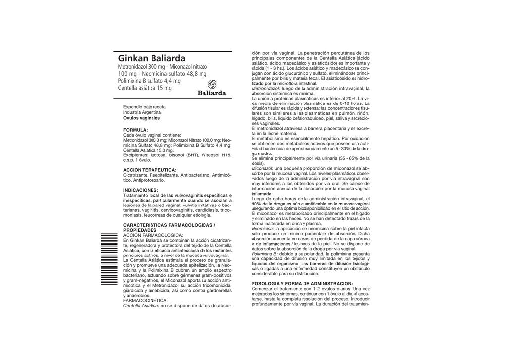 Metronidazol ovulos se puede usar en el embarazo