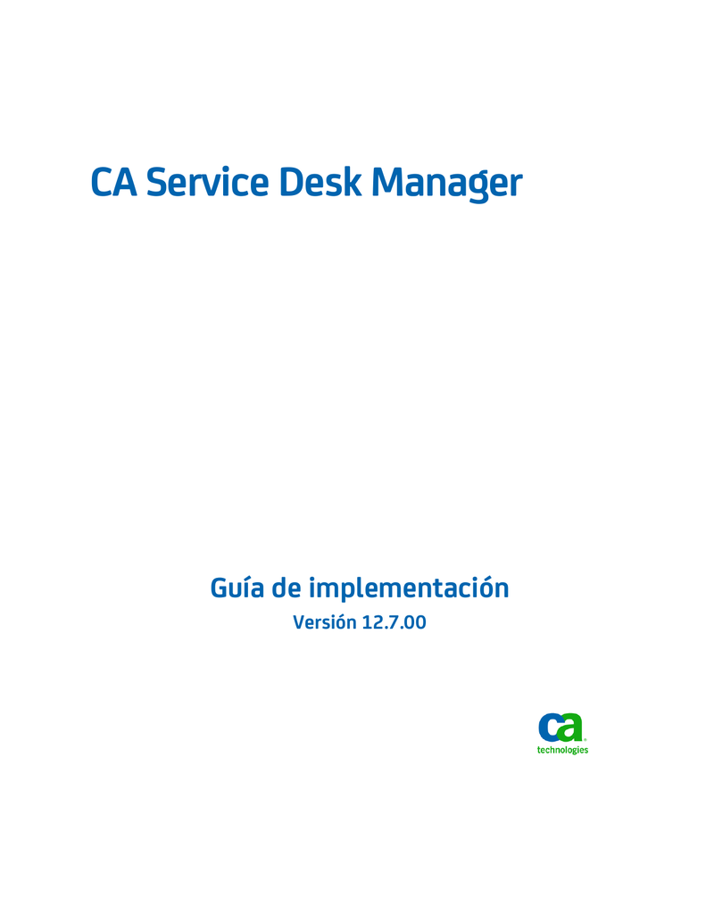 Descargar PDF - CA Technologies