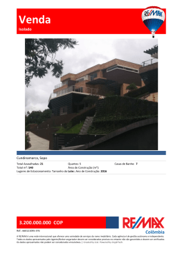 Venda - RE/MAX Switzerland