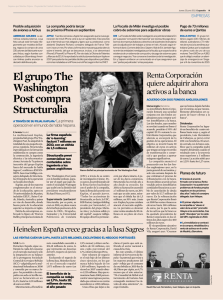 El grupo The Washington Post compra Structuralia