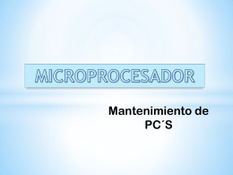 MICROPROCESADORES INTEL VS AMD