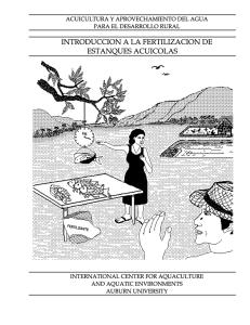 Clasificaci n ecol gica de los organismos de agua for Fertilizacion de estanques piscicolas