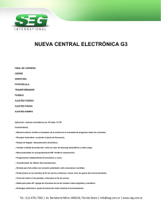 Manual Central G-III