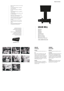 grain mill - Assistent Original