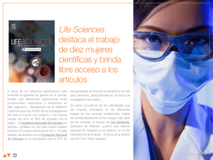 Life Sciences destaca el trabajo de