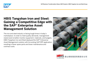 HBIS Tangshan Iron and Steel