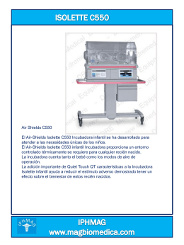 Air-Shields Isolette C550